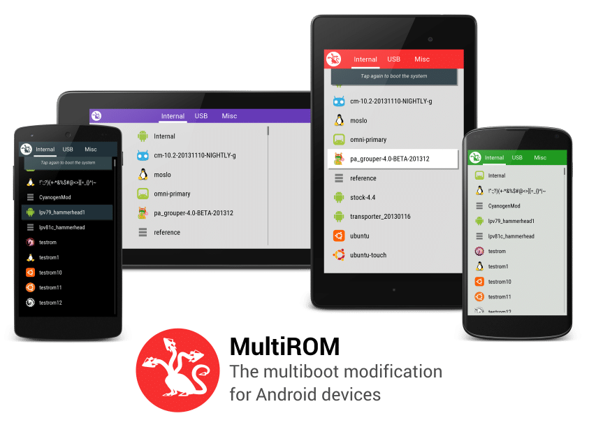 ROM MultiROM Mod Stable Redmi 3/Prime Support Bhs. Indonesia