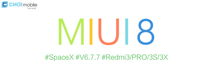 SpaceX ROM MIUI 8 V.6.7.7 Xiaomi Redmi 3/Prime Locked Bootloader
