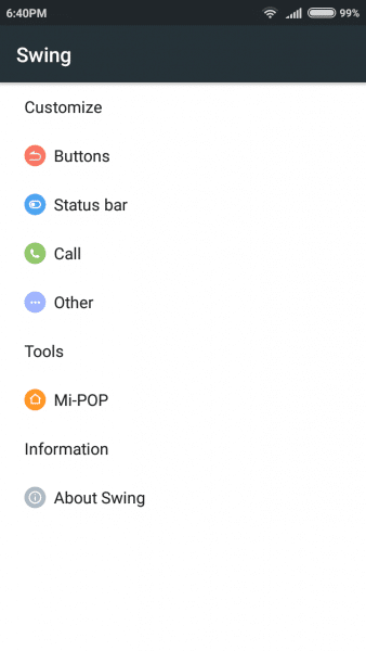 Swing ROM MIUI 7.1.3 Stable Redmi 3 Prime Locked Bootlaoder