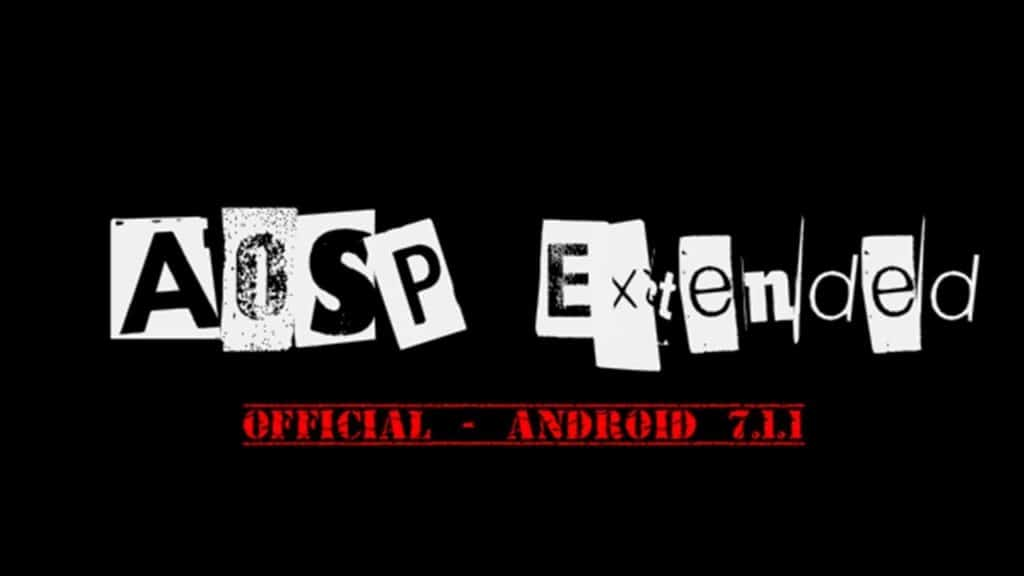 ROM AOSP Extended Nougat 7.1.2 Redmi 4X 1024x576 - ROM AOSP Extended v4.4 Andromax A A16C3H