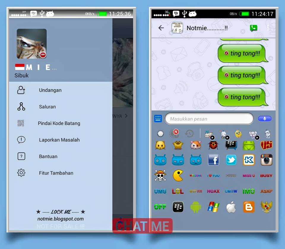 CHAT ME Theme OS 6 Versi 3.3.7.97 Android Apk - CHAT ME - Theme OS 6 Versi 3.3.7.97 Android Apk