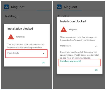 King Root Blocked By Google - Cara Root Oppo F1s Tanpa PC
