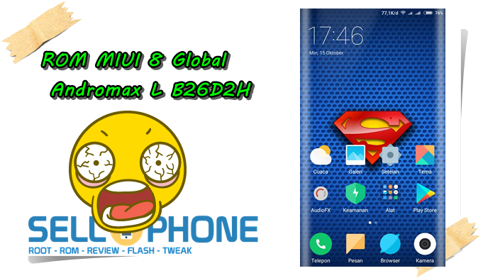 MIUI 8 Global Andromax L - ROM MIUI 8 Global Andromax L B26D2H