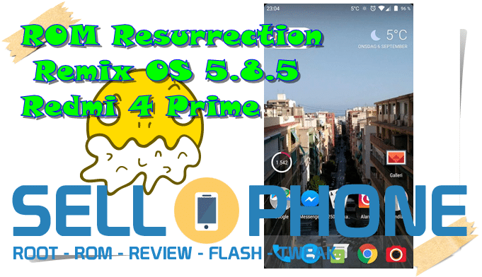 ROM Resurrection Remix OS 5.8.5 Redmi 4 Prime - ROM Resurrection Remix OS 5.8.5 Redmi 4 Prime