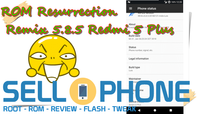 ROM Resurrection Remix 5.8.5 Redmi 5 Plus - ROM Resurrection Remix 5.8.5 Redmi 5 Plus