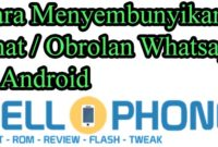 Hide Chat WA di Android 200x135 - Cara Menyembunyikan Chat / Obrolan Whatsapp di Android